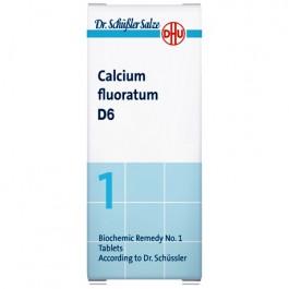 Sal de Schüssler nº1 Calcium fluoratum D6 80 comp. DHU
