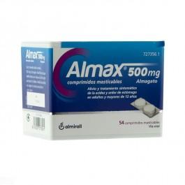 Almax 500 mg 56 comprimidos masticables