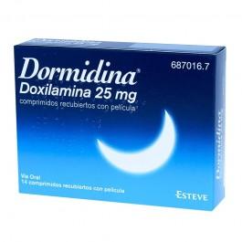 Dormidina doxilamina 25 mg comprimidos