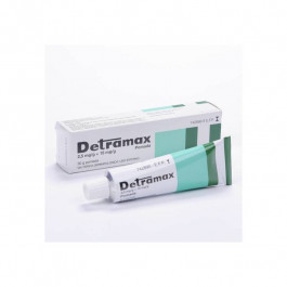 Detramax 2,5 mg/g+ 15 mg/g pomada