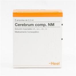 Cerebrum comp. NM 5 amp. Heel