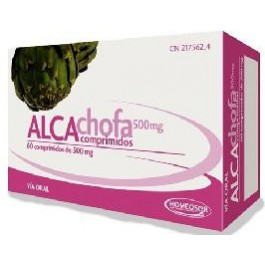 Homeosor alcachofa 500mg 60 comprimidos Soria Natural