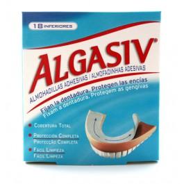 Algasiv 18 almohadillas adhesivas inferiores