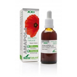 Extracto de Amapola 50ml. Soria Natural