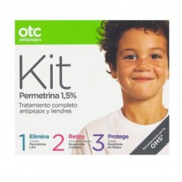 OTC Antipiojos Kit 123 con Permetrina  125ml