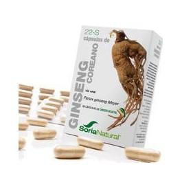 22-S Ginseng 60 cáps. Soria Natural