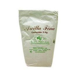 Arcilla Fina 5Kg. Soria Natural