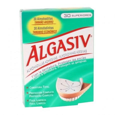 Algasiv 30 almohadillas adhesivas superiores