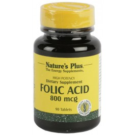 Ácido Fólico 90 comp. Nature's Plus