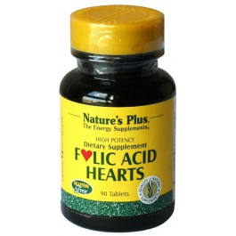 Ácido Fólico Hearts 90 comp. Nature's Plus