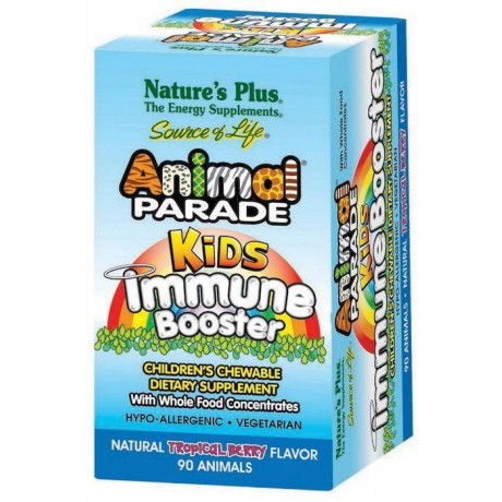 Animal Parade Kids Immune Booster 90 uds. Nature's Plus