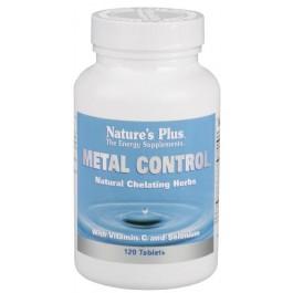 Metal Control 120 comp. Nature's Plus