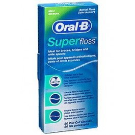 Seda dental Oral B Superfloss 50 hebras