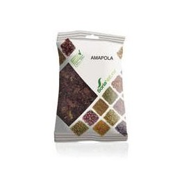 Amapola bolsa 20g. Soria Natural