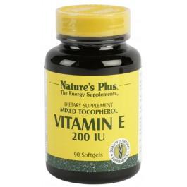 Vitamina E 200UI 90 perlas Nature's Plus