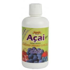 Zumo de Açai 946ml. Dynamic Health