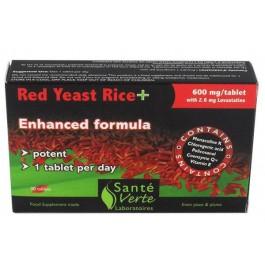 Arroz de Levadura Roja+ CoQ10 30 comp. Santé Verte