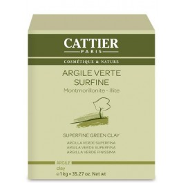 Arcilla Verde Superfina 1Kg. Cattier