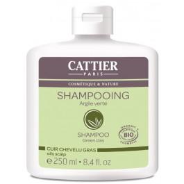 Champú cabello graso con arcilla verde 250ml. Cattier