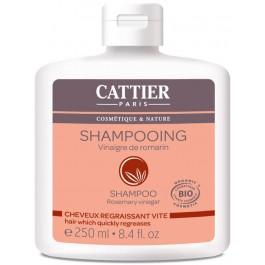 Champú cabello graso con vinagre de romero 250ml. Cattier