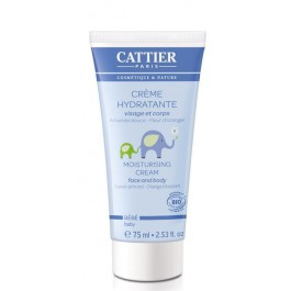 Crema hidratante Bebé 75ml. Cattier