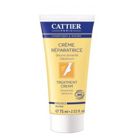 Crema Reparadora Pies Secos 75ml. Cattier