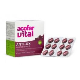 Anti-Ox con resveratrol 60 comp. Acofarvital