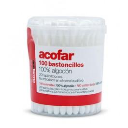 Bastoncillos 100 uds. Acofarbaby