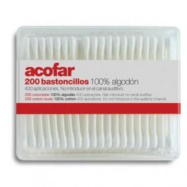 Bastoncillos 200 uds. Acofarbaby