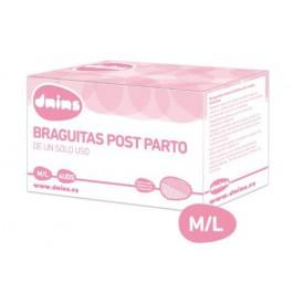 Braguitas post parto M/L 4 uds. Dnins
