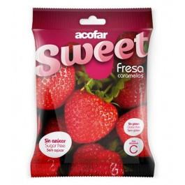 Caramelos fresa 60g. Acofarsweet