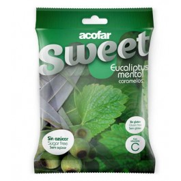Caramelos eucaliptus-mentol 60g. Acofarsweet
