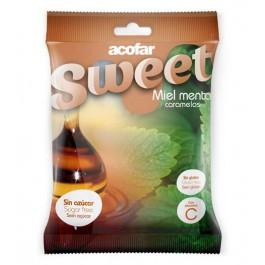 Caramelos miel-menta 60g. Acofarsweet