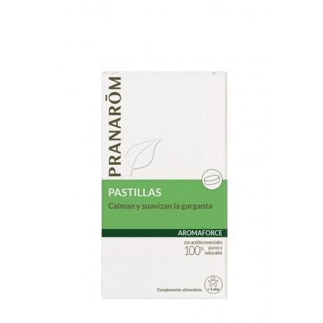 Aromaforce 21 pastillas garganta Pranarom