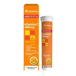 Arkovital Vitamina C 1000mg + Zinc 20 comp. eferv. Arkopharma