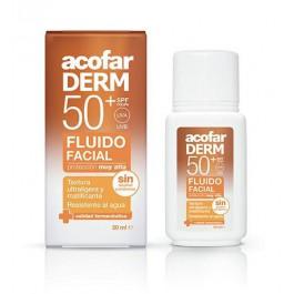 Fluido facial SPF 50+ 50ml. Acofarderm