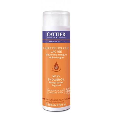 Aceite de ducha lechoso 200ml. Cattier
