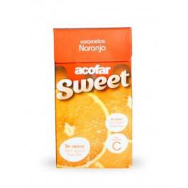 Caramelos naranja 35g. Acofarsweet