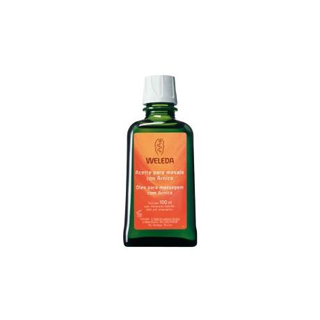 Aceite para masaje con Árnica Weleda 100ml.