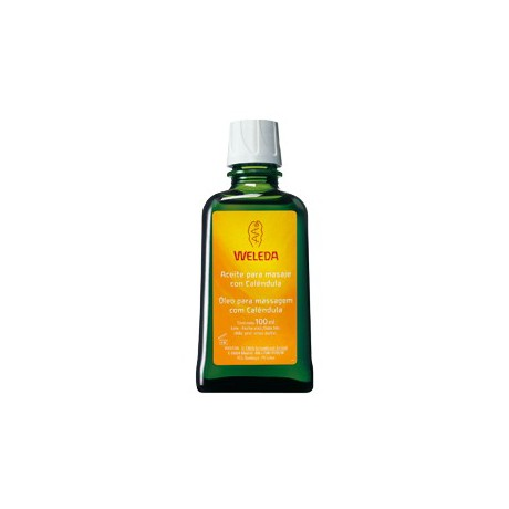 Aceite para masaje con Caléndula Weleda 100ml.