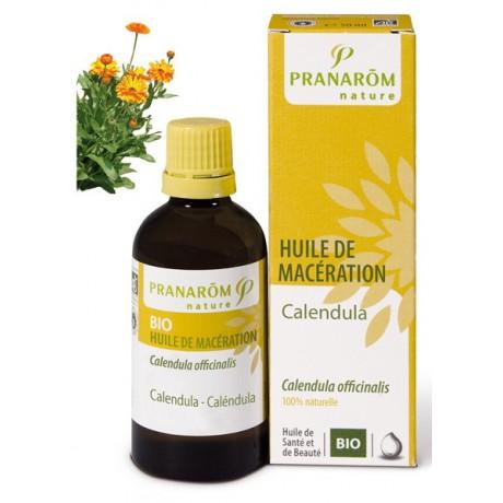 Aceite Vegetal de Maceración de Caléndula BIO 50ml.