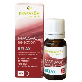 Massage Selection Relax BIO 10ml.